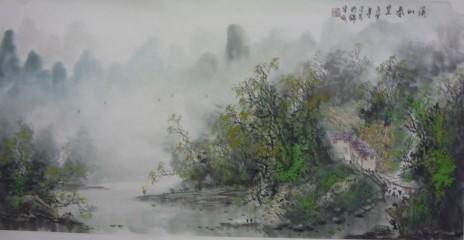 黄河情系中国梦书画展作品之三
